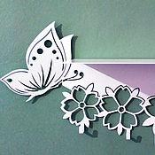 """Для дома и интерьера ручной работы. Ярмарка Мастеров - ручная работа Полка с крючками """"Летнее настроение"""". Handmade."""