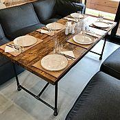 Для дома и интерьера handmade. Livemaster - original item Dining table made of water pipes (project