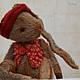 Мишки Тедди ручной работы. Ярмарка Мастеров - ручная работа. Купить Заяц Рустик. Handmade. Серый, зайчик