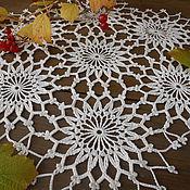 """Для дома и интерьера ручной работы. Ярмарка Мастеров - ручная работа """"Осенняя..."""" салфеточка. Handmade."""