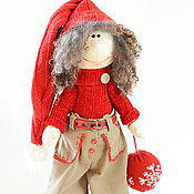 """Куклы и игрушки ручной работы. Ярмарка Мастеров - ручная работа Новогодний Гном """"Олень Рудольф"""". Handmade."""