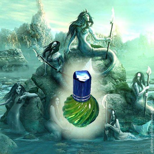 """Натуральные духи ручной работы. Ярмарка Мастеров - ручная работа. Купить """" Sirena """" духи авторские натуральные. Handmade."""