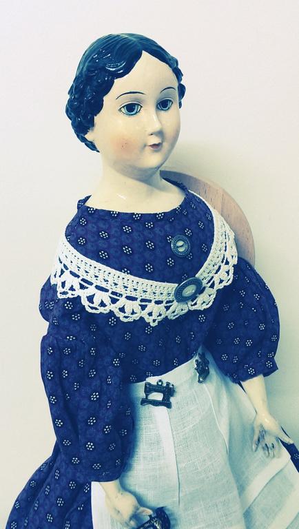 Старинная Коллекционная Кукла Реплика