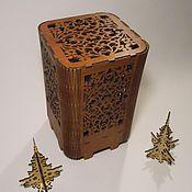 Для дома и интерьера handmade. Livemaster - original item Lamp night light Patterned. Handmade.