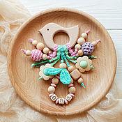 Одежда handmade. Livemaster - original item Named rodent-bird with pendants pastel rainbow. Handmade.