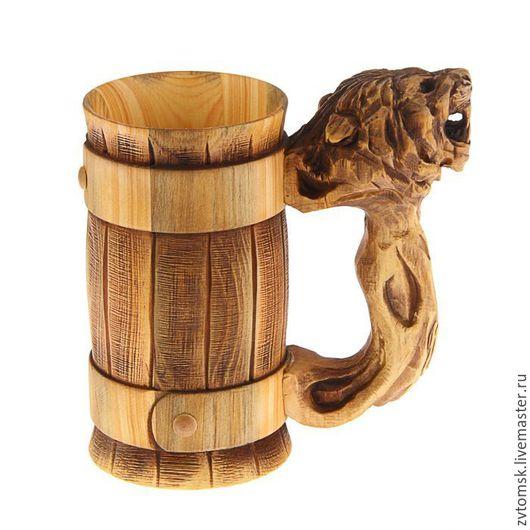 Кружки и чашки ручной работы. Ярмарка Мастеров - ручная работа. Купить Кружка - лев. Handmade. Комбинированный, рыбалка, подарок