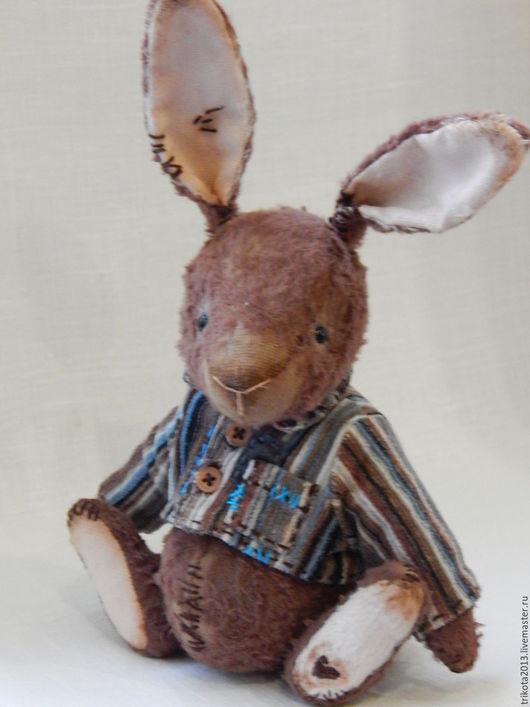 Мишки Тедди ручной работы. Ярмарка Мастеров - ручная работа. Купить Зайка Бу. Handmade. Коричневый, подарок на любой случай