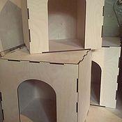 Для домашних животных, ручной работы. Ярмарка Мастеров - ручная работа Ящик-домик для кошек. Handmade.