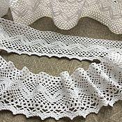 Материалы для творчества handmade. Livemaster - original item Lace cotton 6cm