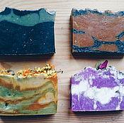 Косметика ручной работы. Ярмарка Мастеров - ручная работа Подарочный набор натурального мыла. Handmade.