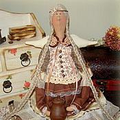 Куклы и игрушки ручной работы. Ярмарка Мастеров - ручная работа Фея бодрого утра Вирджиния (текстильная кукла в винтажном стиле). Handmade.