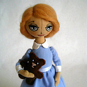 Куклы и игрушки ручной работы. Ярмарка Мастеров - ручная работа Кукла Алиса. Handmade.