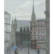 """Картины и панно handmade. Livemaster - original item Купить постер большой """"Stephansplatz. Wien. Вена"""" и не только.. Handmade."""