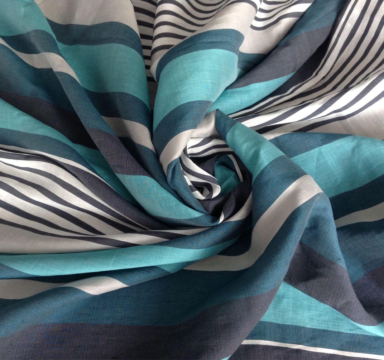 Шитье ручной работы. Ярмарка Мастеров - ручная работа. Купить Лен полосатый АРТ-0228. Handmade. Платье, ткань в полоску