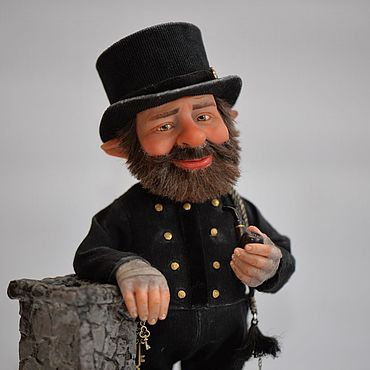 Куклы и игрушки ручной работы. Ярмарка Мастеров - ручная работа Гном. Трубочист Джек. Handmade.