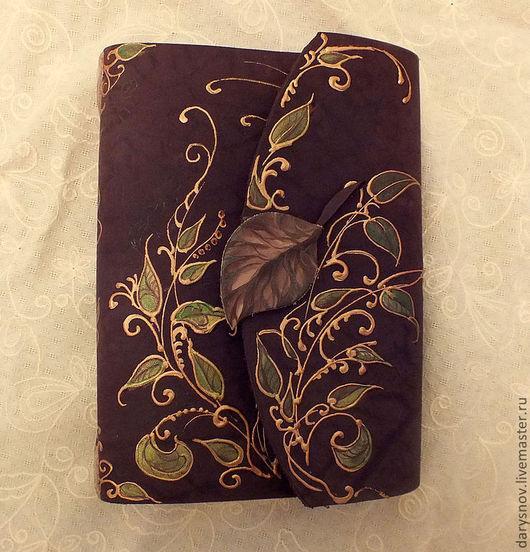 Ежедневники ручной работы. Ярмарка Мастеров - ручная работа. Купить блокнот-книга для записей из натуральной толстой кожи ручной работы. Handmade.