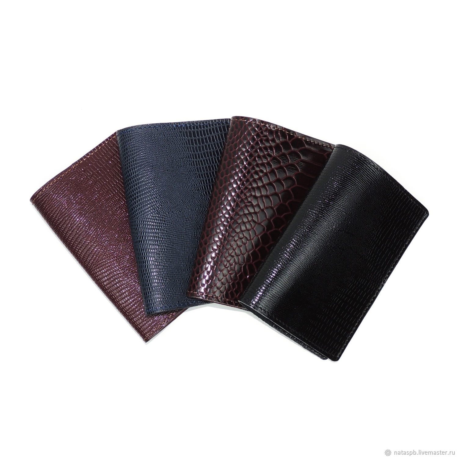 cover: Passport covers leather from reptile, Passport cover, St. Petersburg,  Фото №1