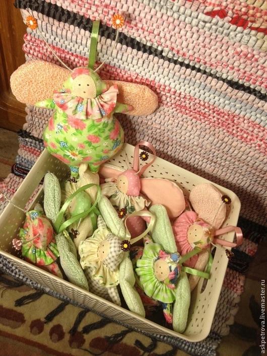 """Игрушки животные, ручной работы. Ярмарка Мастеров - ручная работа. Купить Игрушка-тильда """"Жук"""". Handmade. Розовый, подарок девушке"""