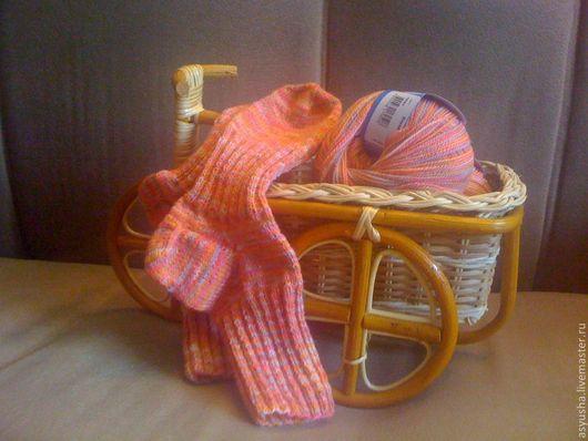 Носки, Чулки ручной работы. Ярмарка Мастеров - ручная работа. Купить Носки из шерсти мериноса. Handmade. Носки ручной работы