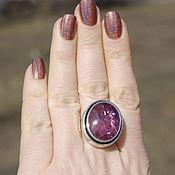 Кольцо с турмалином (Н149)