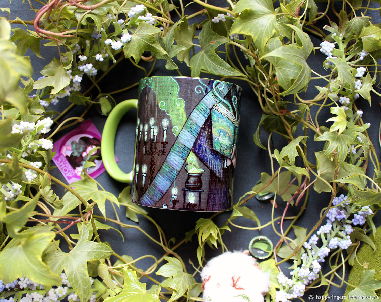 Mug author's 'Slytherin' Harry Potter Harry Potter, Mugs and cups, Elektrostal,  Фото №1