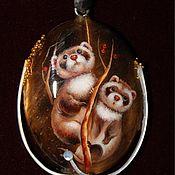 Украшения ручной работы. Ярмарка Мастеров - ручная работа Кулон «Удивление». Handmade.