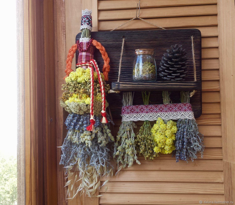 """Полочка с травами """"Рута"""", Народные сувениры, Севастополь,  Фото №1"""