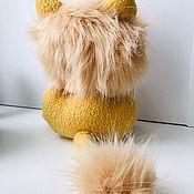 Мягкие игрушки ручной работы. Ярмарка Мастеров - ручная работа Мягкие игрушки: Лёвушка-чудак. Handmade.