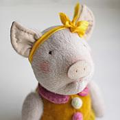 Куклы и игрушки ручной работы. Ярмарка Мастеров - ручная работа Поросенок Аллочка.. Handmade.
