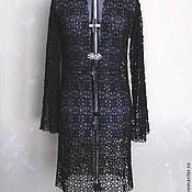 """Одежда ручной работы. Ярмарка Мастеров - ручная работа """"Чернильное кружево"""" кардиган. Handmade."""