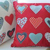 Подушки ручной работы. Ярмарка Мастеров - ручная работа подушка «Для любимых». Handmade.