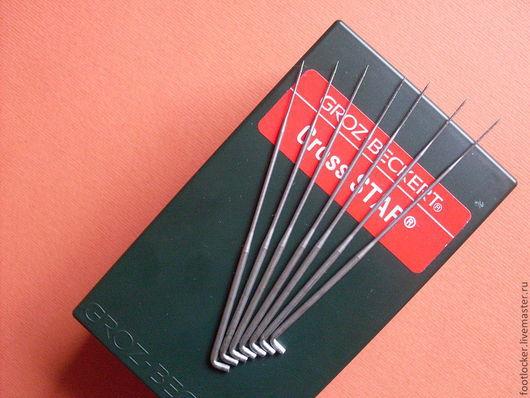 """Валяние ручной работы. Ярмарка Мастеров - ручная работа. Купить """"Звезда"""" № 36, игла для валяния, GROZ BECKERT, Германия, цена за 1 шт. Handmade."""