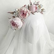 Украшения handmade. Livemaster - original item Rim of silk roses