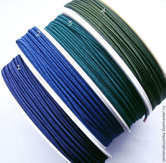 """Шитье ручной работы. Ярмарка Мастеров - ручная работа. Купить Сутаж """"Сине-зеленый"""". Handmade. Синий, зеленый, сутаж, шнур"""