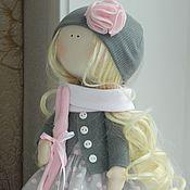 Куклы и игрушки ручной работы. Ярмарка Мастеров - ручная работа Кукла с розовым зайкой. Handmade.