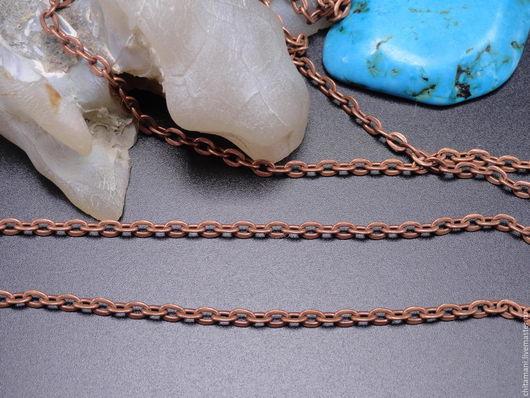 Цпм-06 цвет медь размер звена 4*3мм