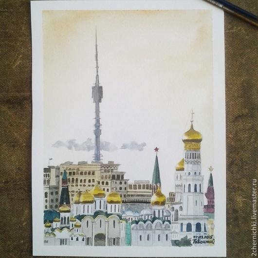 Москва-город контрастов и смешения стилей и всё равно самый любимый:)