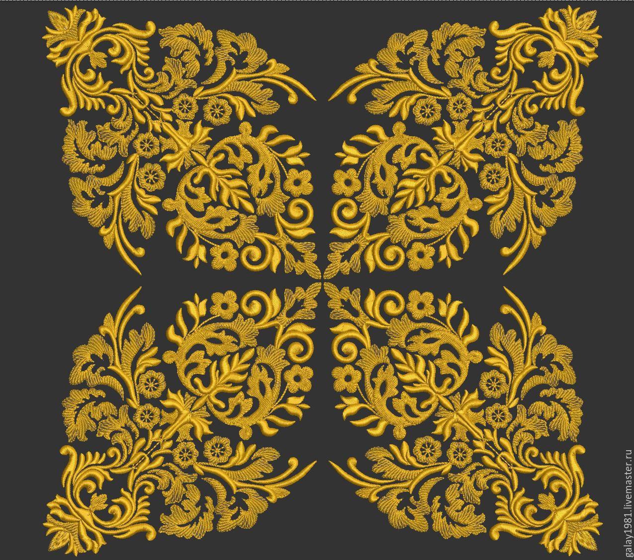 Дизайны машинной вышивки бесплатно Royal Present Embroidery 37