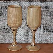 Посуда ручной работы. Ярмарка Мастеров - ручная работа Бокалы для шампанского. Handmade.
