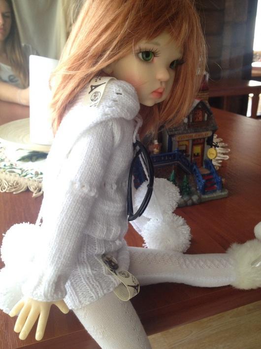 """Одежда для кукол ручной работы. Ярмарка Мастеров - ручная работа. Купить """"Прогулка по Парижу"""" одежда для кукол. Handmade. Белый, для кукол"""