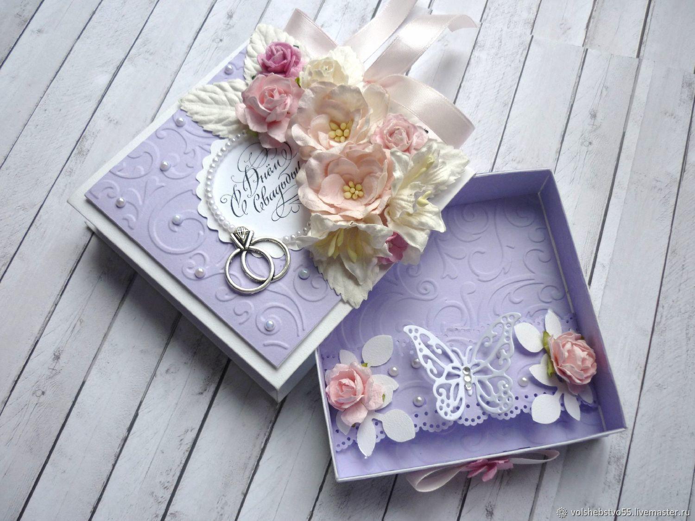 Ящик для открыток на свадьбу, 65-летием