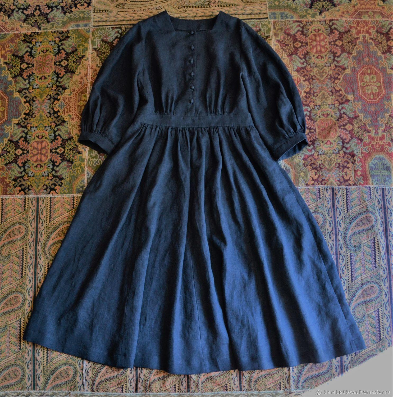 Вещь № 96 темно-синего цвета, Платья, Санкт-Петербург,  Фото №1
