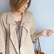 Одежда handmade. Livemaster - original item cardigan cashmere tweed. Handmade.