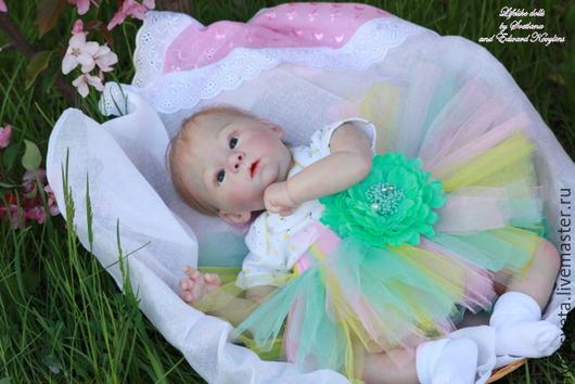 Куклы-младенцы и reborn ручной работы. Ярмарка Мастеров - ручная работа. Купить Кукла реборн Эмма из лимитированного молда Харлоу от Лауры Тюссо. Handmade.