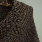Одежда handmade. Livemaster - original item Brown jacket with buttons