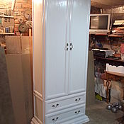 Для дома и интерьера ручной работы. Ярмарка Мастеров - ручная работа шкаф для одежды. Handmade.