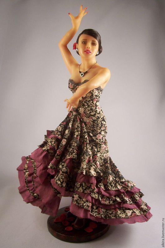 Коллекционные куклы ручной работы. Ярмарка Мастеров - ручная работа. Купить Танец любви. Handmade. Кукла, волокна крапивы, вискоза
