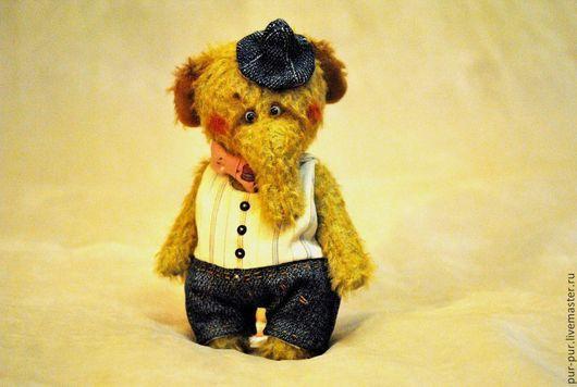 Мишки Тедди ручной работы. Ярмарка Мастеров - ручная работа. Купить Слоня хипстер Сеня. Handmade. Желтый, слоны