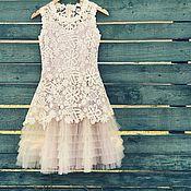 Одежда ручной работы. Ярмарка Мастеров - ручная работа Платье Flora. Handmade.