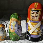 Русский стиль handmade. Livemaster - original item Matryoshka The Nutcracker. Handmade.